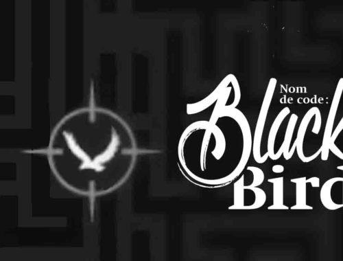 Bannière avec le logo du livre Nom de code Blackbird, par Anna Carey, éditions Bayard