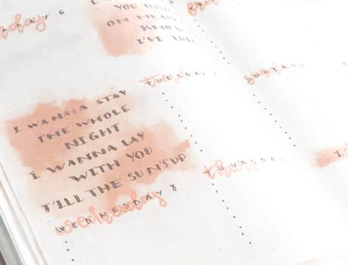 4 – Ces 10 pages essentielles à votre Bullet Journal