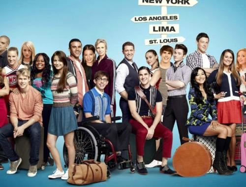 Glee arrive sur Netflix !