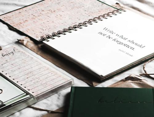 7 exercices de développement personnel à faire avec votre Bullet Journal