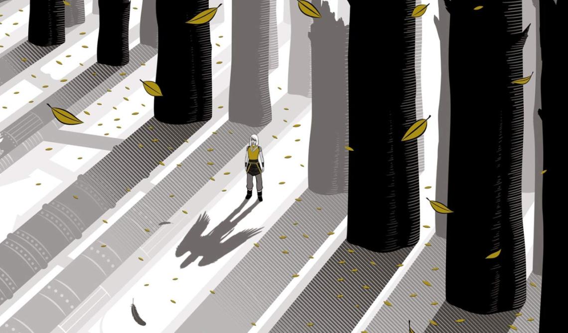 La ville sans vent tome 2 : La fille de la forêt