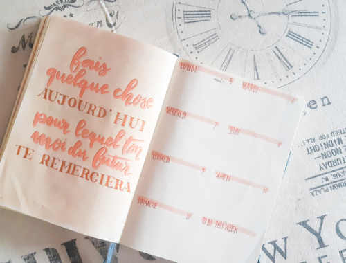 Le grand lexique du Bullet Journal
