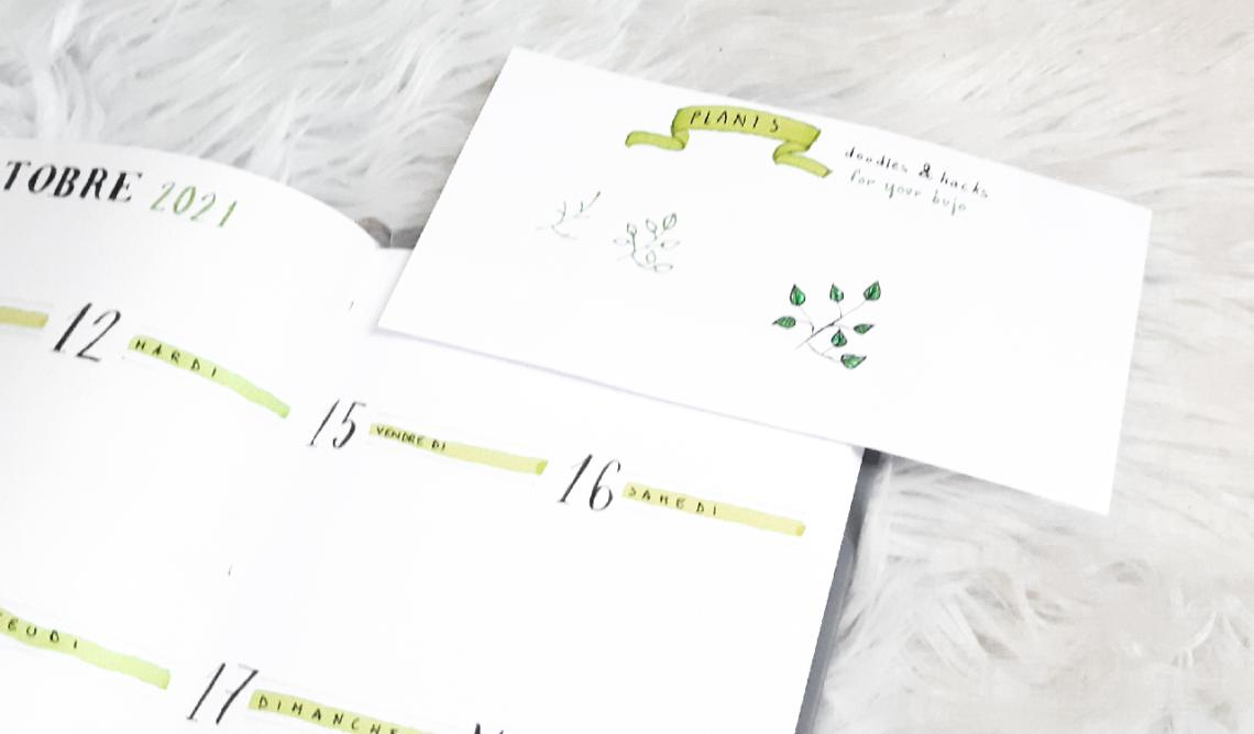 10 doodles pour votre Bullet Journal #2 : les plantes